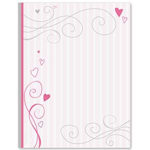Tickled Pink Border Papers