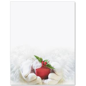 Santa's Gift Border Papers