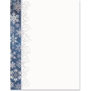 Wintertime Border Papers