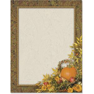 Ornamental Fall Border Papers