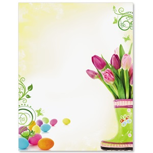 Spring Fling Border Papers