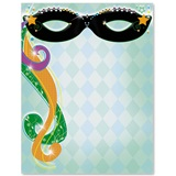 Masquerade Party Border Papers