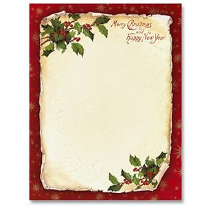 Border papers paperdirects old fashioned holly border papers thecheapjerseys