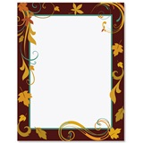 Chocolate Elegance Border Papers