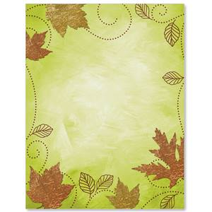Fall Charm Border Papers