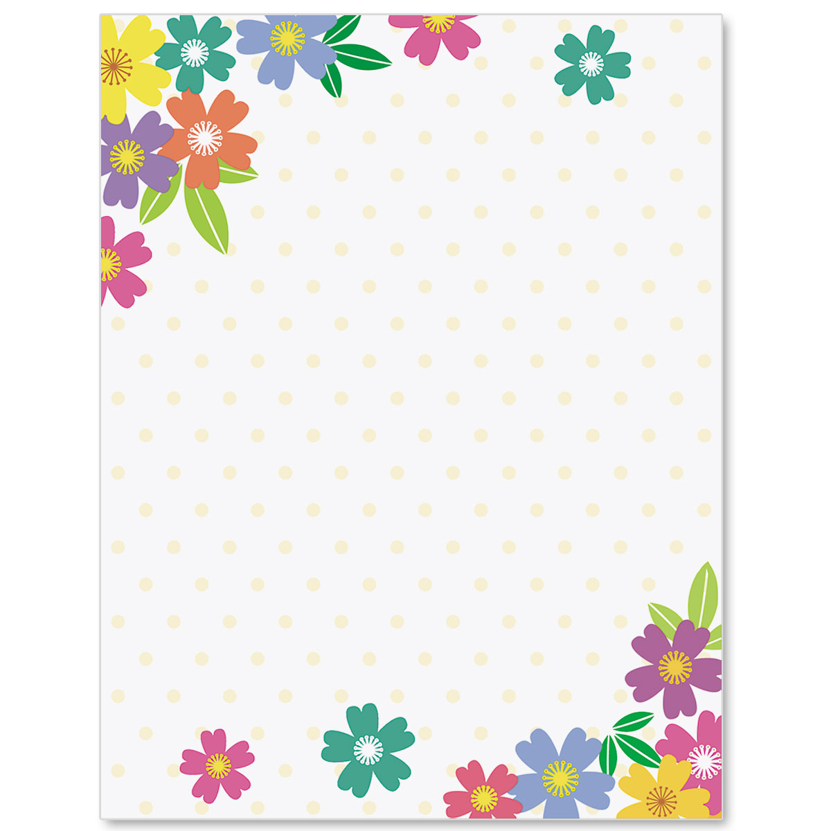 Wild flowers border papers paperdirects wild flowers border papers mightylinksfo