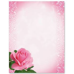 One Rose Border Papers