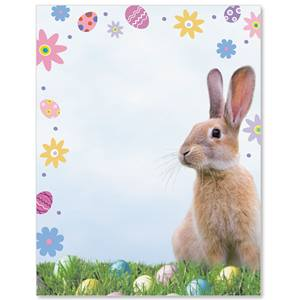 Peter Cottontail Border Papers