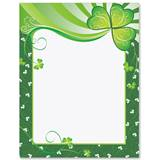 Shamrock Pizazz Border Papers
