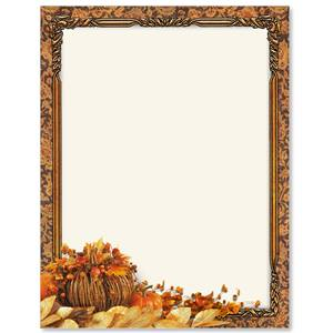 Fall Harmony Border Papers