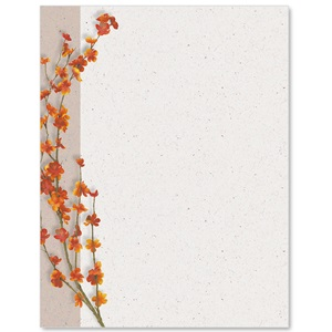 Autumn Serenity Border Papers