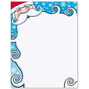 Santa's Delight Border Papers