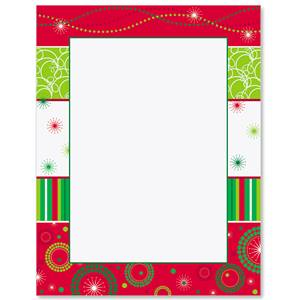 Merry Magic Border Papers
