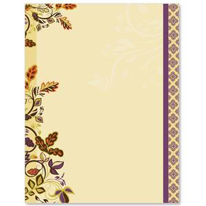 Autumn Accents Border Papers