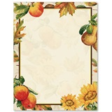 Autumn Fruit Border Papers