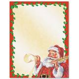 Old Fashioned Santa Border Papers
