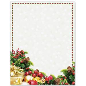 Pine Gifts Border Papers