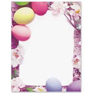 Naturally Easter Border Papers