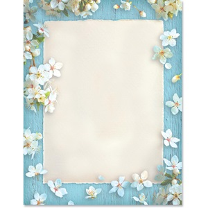Spring Blossoms Border Papers