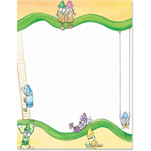Kids Club Border Papers