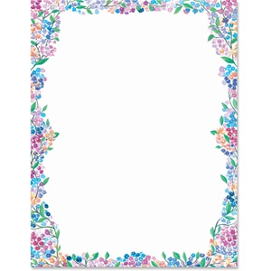 Blossom Border Papers
