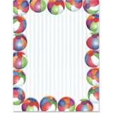 Beach Balls Border Papers