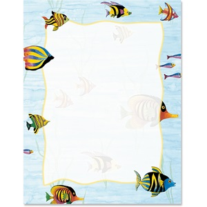 Tropical Fish Border Papers