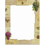 Wine Tasting Border Papers