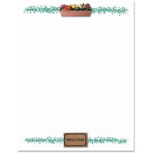 Housewarming Border Papers