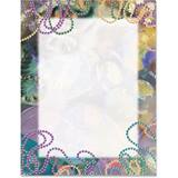 Party Gras Border Papers
