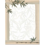 Peaceful Garden Border Papers