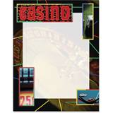 Casino Night Border Papers