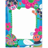 Bright Bugs Border Papers