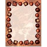 Chocolate Lovers Border Papers