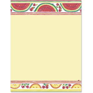 Summer Fruit Border Papers
