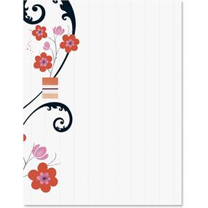 Spring Boutique Border Papers