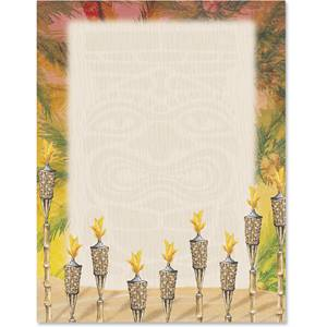 Tiki Nights Border Papers