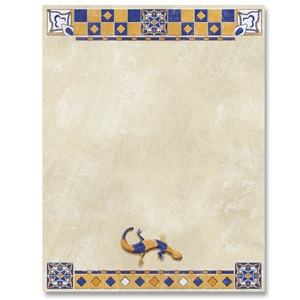 Spanish Tiles Border Papers