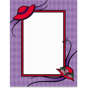 Red Hot Border Papers