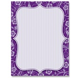 Delightful Purple Border Papers
