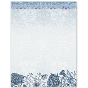 Floral Rhapsody Border Papers