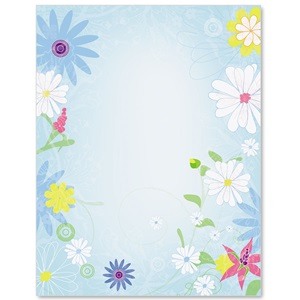 Blooming Breeze Border Papers