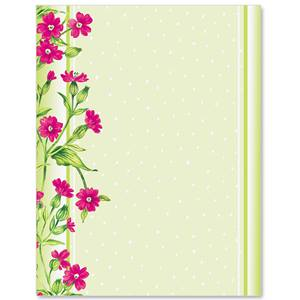 Frilly flowers border papers paperdirects frilly flowers border papers mightylinksfo