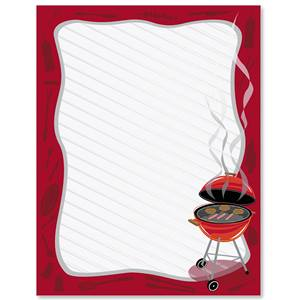 Grillin Border Papers Paperdirect S
