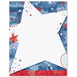 Stars and Stripes Bash Border Papers