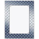 Diamond Plate Border Papers