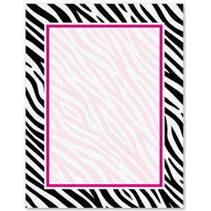 Zebra print border papers paperdirects zebra print border papers voltagebd
