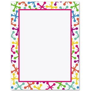 Color Explosion Border Papers