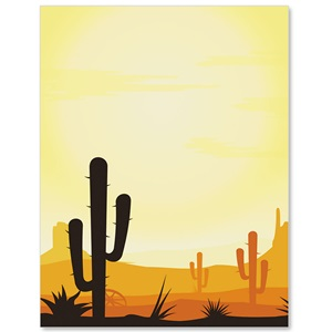 Desert Sun Border Papers Paperdirect S