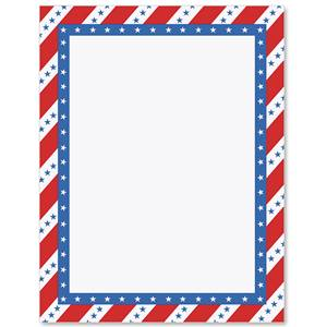 patriotic passion border papers paperdirect s